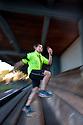 PE00254-00...WASHINGTON - Pierce Prohovost jogging in Edmonds. (MR# P9)