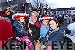 Ava O'Hanlon, Olivia Whyte with Liam and Sandra O'Hanlon, Asdee, pictured in Listowel on Sunday last.