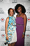 Ms. Chalhoun and Honoree Brigid Turner Attend The 4th Annual Beauty and the Beat: Heroines of Excellence Awards Honoring Outstanding Women of Color on the Rise Hosted by Wilhelmina and Brand Jordan Model Maria Clifton Held at the Empire Room, NY 3/22/13