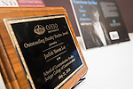 Dr. Judith Yaross Lee is one of two recipients of the Distinguished Professor Award held at Ohio University's Baker Center Ballroom on Monday, February 20, 2017.