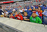 18 May 2012: Washington Nationals outfielder Nationals Fans watch game action against the Baltimore Orioles as guests of Ian Desmond at Nationals Park in Washington, DC. The Orioles defeated the Nationals 2-1 in the first game of their 3-game series. Mandatory Credit: Ed Wolfstein Photo