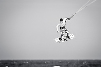 The last leg of the 2010 PKRA World Kiteboarding Tour has come to the Gold Coast, Australia - 2010 World Champion Andy Yates in action.
