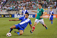 Cristian Noriega (3) of Guatemala. Mexico defeated Guatemala 2-1 during a quarterfinal match of the 2011 CONCACAF Gold Cup at the New Meadowlands Stadium in East Rutherford, NJ, on June 18, 2011.