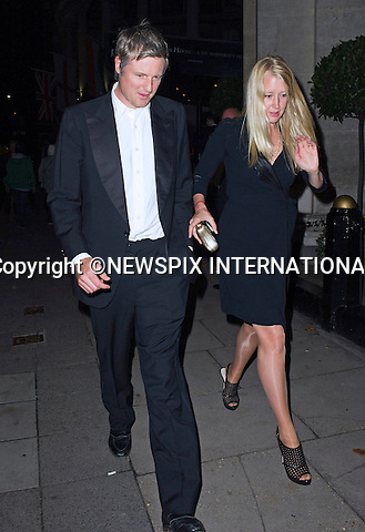ZAC GOLDSMITH AND ALICE ROTHSCHILD<br /> attend the Boodles Boxing Ball at the Grosvenor House Hotel, London_21/09/2013<br /> Mandatory Credit Photo: &copy;Dias/NEWSPIX INTERNATIONAL<br /> <br /> **ALL FEES PAYABLE TO: &quot;NEWSPIX INTERNATIONAL&quot;**<br /> <br /> IMMEDIATE CONFIRMATION OF USAGE REQUIRED:<br /> Newspix International, 31 Chinnery Hill, Bishop's Stortford, ENGLAND CM23 3PS<br /> Tel:+441279 324672  ; Fax: +441279656877<br /> Mobile:  07775681153<br /> e-mail: info@newspixinternational.co.uk