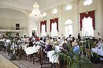Pump Room - Tea Room, Roman Baths, Bath, England, UK