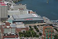 aerial photograph KFC Yum! Center, Louisviille, Kentucky