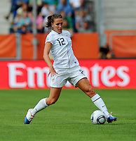 Lauren Cheney of team USA during the FIFA Women's World Cup at the FIFA Stadium in Sinsheim, Germany on July 2nd, 2011.