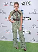 BURBANK, CA. October 22, 2016: Chloe Lukasiak at the 26th Annual Environmental Media Awards at Warner Bros. Studios, Burbank.<br /> Picture: Paul Smith/Featureflash/SilverHub 0208 004 5359/ 07711 972644 Editors@silverhubmedia.com