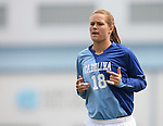 1 September 2007: North Carolina's Ashlyn Harris. The University of South Carolina Gamecocks defeated the University of North Carolina Tar Heels 1-0 at Fetzer Field in Chapel Hill, North Carolina in an NCAA Division I Womens Soccer game.