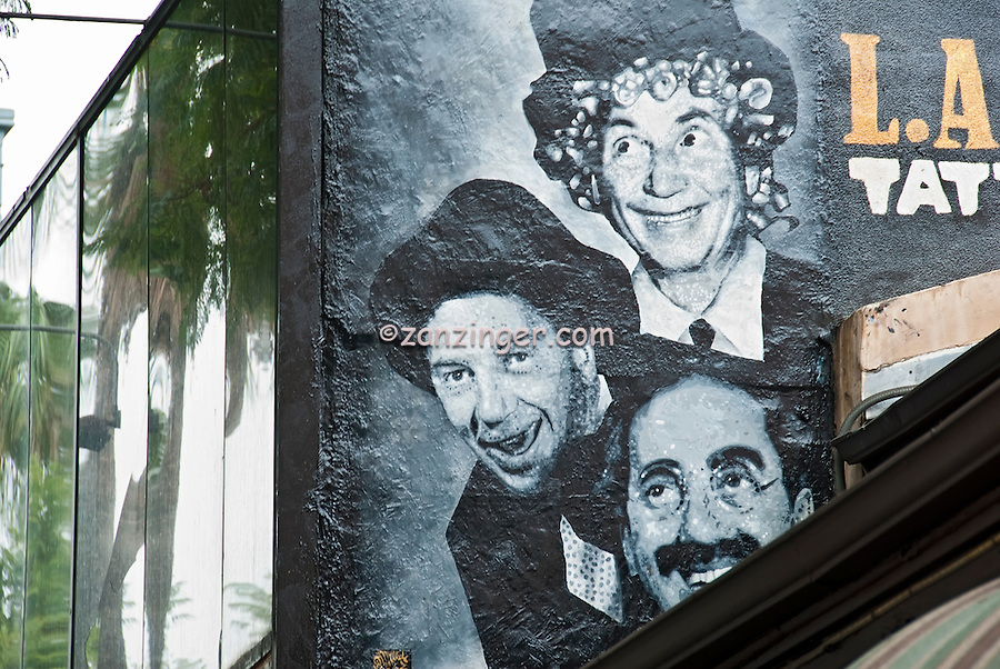 Marx brothers american family comedy act celebrity for Celebrity mural