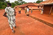 Monkey priest, Boabeng-Fiema village, Ghana