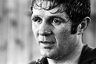 April 1970 --- French Boxer Jean Josselin --- Image by © JP Laffont