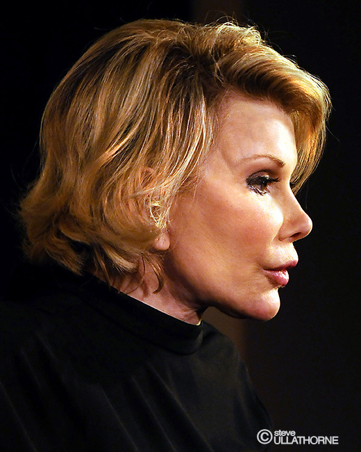 Joan Rivers. Live at Leicester Square Theatre