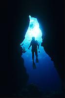 Diver Silhouette <br /> French Cap, U.S. Virgin Islands