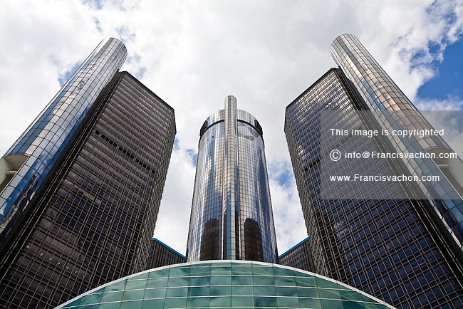 general motors corporate headquarters is seen in detroit renaissance. Cars Review. Best American Auto & Cars Review