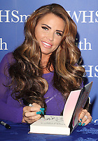 OCT 27 Katie Price Book Signing @ Luton