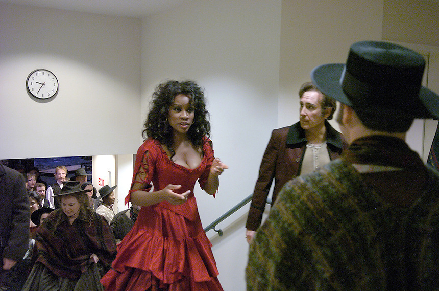 "Denyce Graves is ""Carmen"" at the Lyric Opera, 2005."