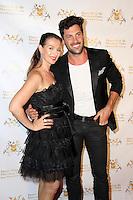 Elena Grinenko, Maksim Chmerkovskiy<br /> Dance With Me USA Grand Opening, Dance With Me Studio, Sherman Oaks, CA 09-10-14<br /> David Edwards/DailyCeleb.com 818-249-4998