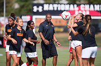 College Park, MD - September 19, 2014: Michigan defeated Maryland 1-0 during a women's soccer match at Ludwig Field.