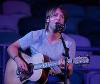 Grammy Award nominee Keith Urban at Rod Laver Arena, Melbourne, 12 December 2009