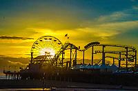 Santa Monica Beach, Friday, February 7, 2014.