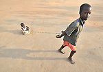 Children playing in Yei, Southern Sudan.
