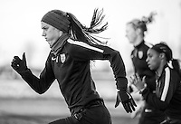 Frisco, TX - February 9, 2016: The USWNT trains in preparation for the group stage of the CONCACAF Women's Olympic Qualifying Tournament.
