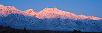 Sunrise over Mt. Williamson and Sierra Nevada mountains, California