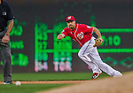 19 September 2015: Washington Nationals second baseman Anthony Rendon in action against the Miami Marlins at Nationals Park in Washington, DC. The Nationals defeated the Marlins 5-2 in the third game of their 4-game series. Mandatory Credit: Ed Wolfstein Photo *** RAW (NEF) Image File Available ***