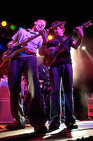 Jake Cinninger and Brendan Bayliss, of Umphrey's McGee play Higher Ground in South Burlington, Vermont