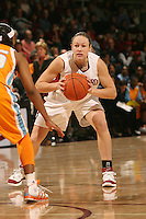 4 December 2005: Clare Bodensteiner during Stanford's 74-67 loss to Tennessee at Maples Pavilion in Stanford, CA