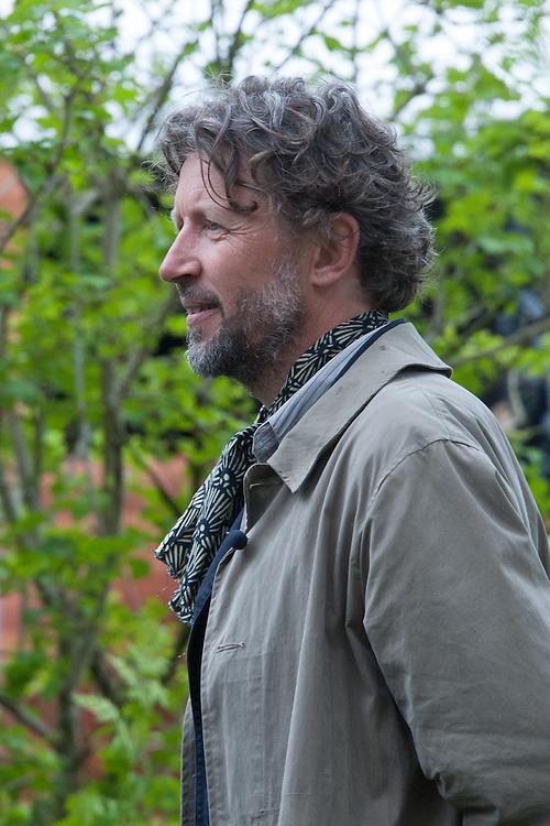 Dan Pearson. The Laurent-Perrier Chatsworth Garden designed by Dan Perarson, RHS Chelsea Flower Show 2015.