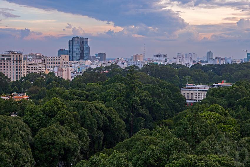 A very green Saigon, and a Birds Eye View of the city (Ho Chi Minh City, HCMC)
