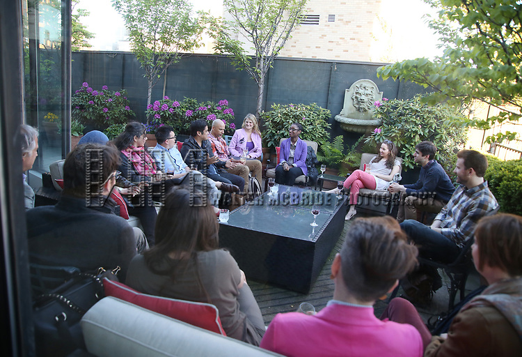 attends The Drama League: Meet The Directing Fellows <br /> Hosted By Stewart F. Lane &amp; Bonnie Comley at a private residence on May 15, 2017 in New York City.