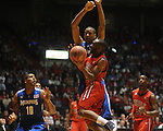 Mississippi's Chris Warren (12) vs. Memphis's Wesley Witherspoon  in NIT second round basketball action at the C.M. &quot;Tad&quot; Smith Coliseum in Oxford, Miss. on Friday, March 19, 2010. Ole Miss won 90-81.