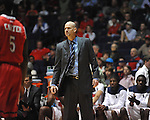 "Ole Miss head coach Andy Kennedy vs. Rutgers head coach Mike Rice at the C.M. ""Tad"" Smith Coliseum in Oxford, Miss. on Saturday, December 1, 2012. Mississippi won 80-67. (AP Photo/Oxford Eagle, Bruce Newman).."