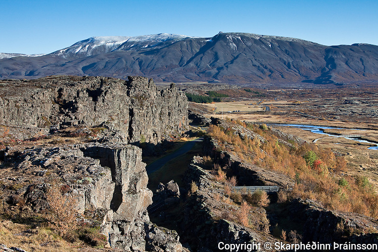 Þingvellir National Park, south west Iceland