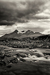 Cuillin Hills from near Sligachan, Isle of Skye, Scotland