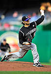 22 April 2010: Colorado Rockies' relief pitcher Joe Beimel on the mound against the Washington Nationals at Nationals Park in Washington, DC. The Rockies shut out the Nationals 2-0 gaining a 2-2 series split. Mandatory Credit: Ed Wolfstein Photo