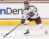 Steven Whitney (BC - 21) - The Boston College Eagles defeated the visiting University of New Hampshire Wildcats 5-2 on Friday, January 11, 2013, at Kelley Rink in Conte Forum in Chestnut Hill, Massachusetts.