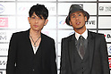 TOKYO - MAY 29: Chemistry band members Yoshikuni Dochin (L) and Kaname Kawabata arrive at the red carpet of the World Stage MTVJ 2010 show, May 29, 2010 at Yoyogi National Stadium in Tokyo, Japan.