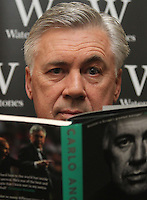 MAY 26 Carlo Ancelotti 'Quiet Leadership' book signing