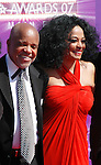 Berry Gordy and Diana Ross arrive at 2007 BET Awards.26th June 2007 at The Shrine Auditorium...© Chris Walter..