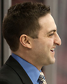 Jared DeMichiel (UMass - Assistant Coach) - The Boston University Terriers defeated the University of Massachusetts Minutemen 3-1 on Friday, February 3, 2017, at Agganis Arena in Boston, Massachusetts.The Boston University Terriers defeated the visiting University of Massachusetts Amherst Minutemen 3-1 on Friday, February 3, 2017, at Agganis Arena in Boston, MA.