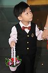 Taiwanese Wedding -- The flower boy is ready, too!