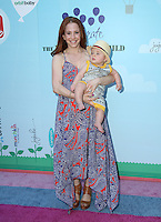 CULVER CITY, CA - SEPTEMBER 24: Amy Davidson, Lennox Sawyer Lockwood  attends the Step2 & Favored.by Present The 5th Annual Red Carpet Safety Awareness Event at Sony Pictures Studios on September 24, 2016 in Culver City, California. (Credit: Parisa Afsahi/MediaPunch).