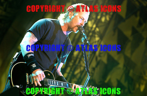 Metallica; 2003<br /> Photo Credit: Eddie Malluk/Atlas Icons.com