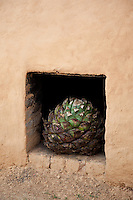 &quot;Earthen Agave Oven 3&quot; - This agave and earthen oven were photographed near San Sebastian, Mexico.