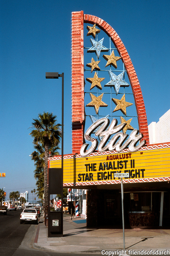 Movie Theatre: Oceanside, CA--Star Theatre. Photo '83.