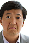 Actor Ken Jeong, the actor known for his crazy onscreen antics, including in The Hangover - with it's sequel being released soon, poses at a press junket at in Beverly Hills. Jeong also holds a medical degree.
